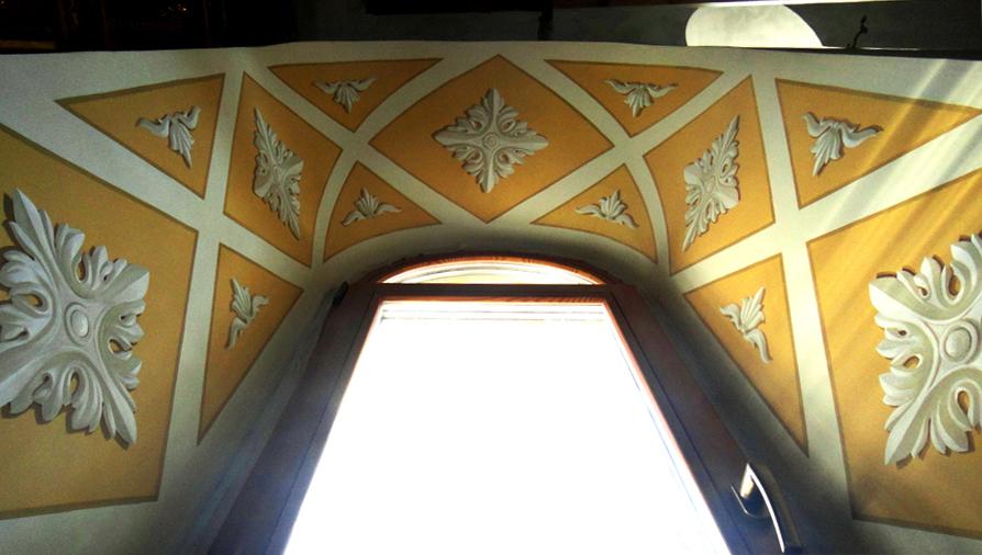 альфрейная роспись орнамент