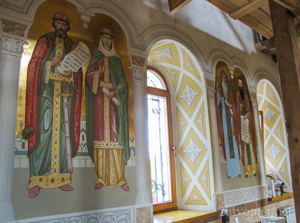 Роспись русского храма