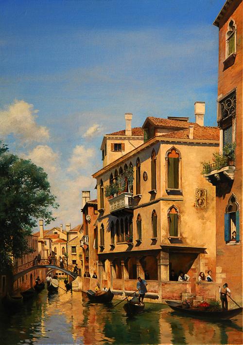 копия картины - венеция