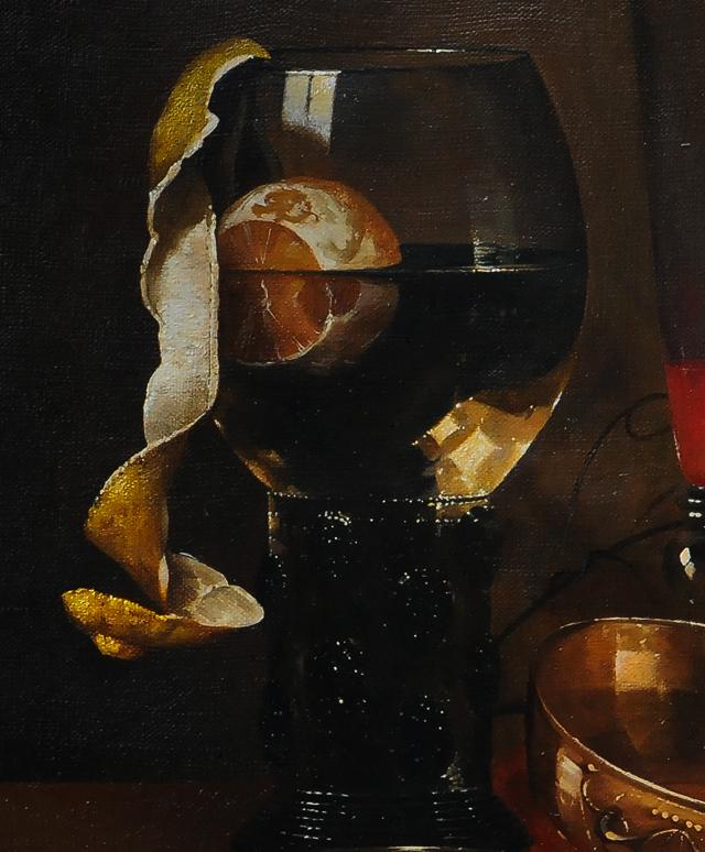 Абрахам ван Брейрен. Натюрморт.